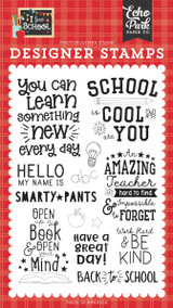 I Love School: School is Cool Stamp Set