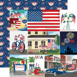 God Bless America: Multi Journaling Cards