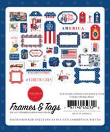 God Bless America: God Bless America Frames & Tags