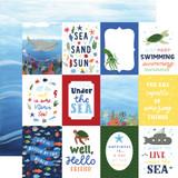 Under Sea Adventures: 3x4 Journaling Cards