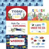 Under Sea Adventures: 6x4 Journaling Cards