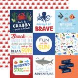 Under Sea Adventures: 4x4 Journaling Cards
