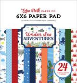 Under Sea Adventures 6x6 Paper Pad