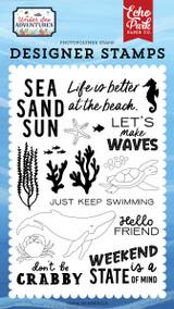 Under Sea Adventures: Make Waves Stamp Set