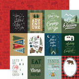 Let's Go Camping: 3x4 Journaling Cards