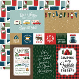 Let's Go Camping: 4x6 Journaling Cards