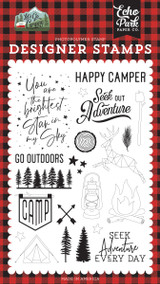 Let's Go Camping: Seek Out Adventure Stamp Set