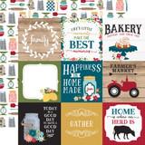 Farmers Market: 4x4 Journaling Cards