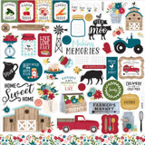 Farmer's Market Element Sticker