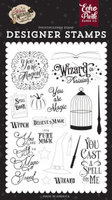 Witches and Wizards No. 2: You Are Magic Stamp Set