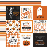 Halloween Party: 4x4 Journaling Cards