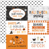 Halloween Party: 6x4 Journaling Cards