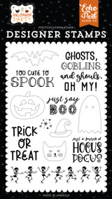 Halloween Party: Just Say Boo Stamp Set
