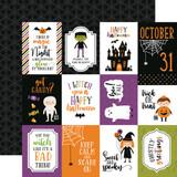 Halloween Magic: 3x4 Journaling Cards