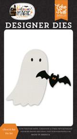 Halloween Magic: Ghost & Bat Die Set