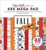 Fall Cardmakers 6x6 Mega Pad