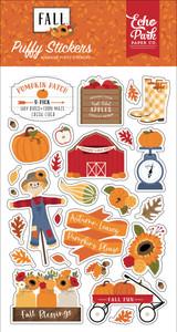 Fall Puffy Stickers