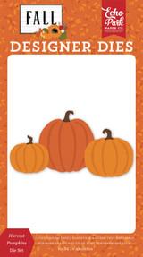 Fall: Harvest Pumpkin Die Set
