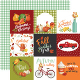 Welcome Autumn: 4x4 Journaling Cards