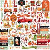 Welcome Autumn Element Sticker