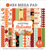 Welcome Autumn Cardmakers 6x6 Mega Pad