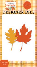 Welcome Autumn: Crisp Leaves Die Set
