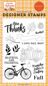 Welcome Autumn: I Love Fall Most Stamp Set