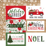 Jingle All The Way: 6x4 Journaling Cards