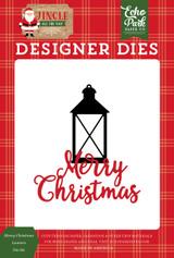 Jingle All The Way: Merry Christmas Lantern Die Set
