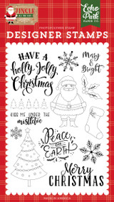 Jingle All The Way: Holly Jolly Christmas Stamp Set