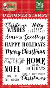 Jingle All The Way: Christmas Wishes Stamp Set