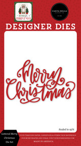 Home For Christmas: Lettered Merry Christmas Die Set