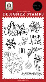 Home For Christmas: Joy Stamp Set
