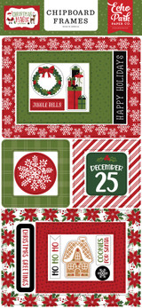 Christmas Magic 6x13 Chipboard Frames