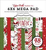 Christmas Magic Cardmakers 6x6 Mega Paper Pad