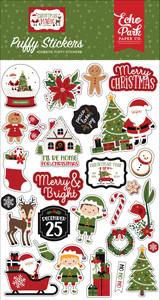 Christmas Magic Puffy Stickers