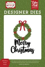 Christmas Magic: Holly Berry Wreath Die Set