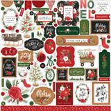 Happy Christmas Element Sticker