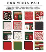 Happy Christmas Cardmakers 6x6 Mega Pad