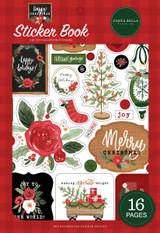 Happy Christmas Sticker Book