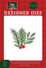 Happy Christmas: Christmas Greens Die Set