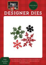 Happy Christmas: Jingle Snowflakes Die Set
