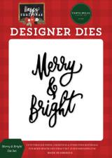 Happy Christmas: Merry & Bright Die Set