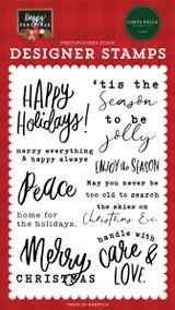 Happy Christmas: Enjoy The Season Stamp Set