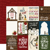 The First Noel: 3x4 Journaling Cards