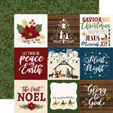 The First Noel: 4x4 Journaling Cards