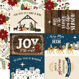 The First Noel: 6x4 Journaling Cards