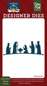 The First Noel: Christ is Born Nativity Die Set