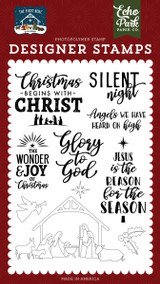 The First Noel: Glory To God Stamp Set