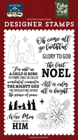 The First Noel Stamp Set
